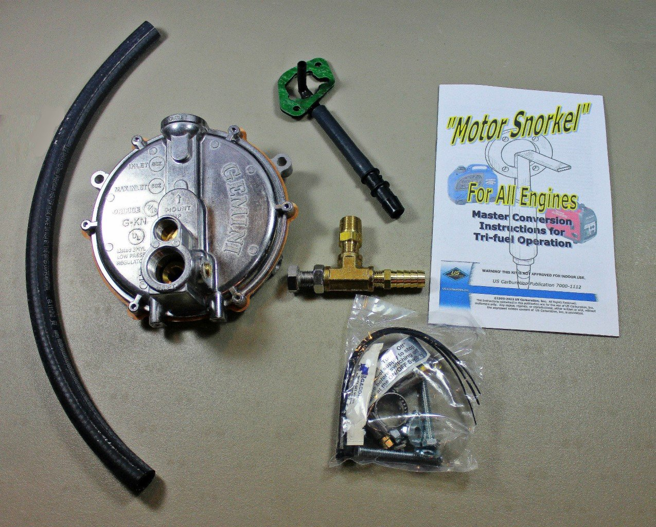 Yamaha EF2200i  Snorkel Propane Natural Gas Generators Triple Fuel